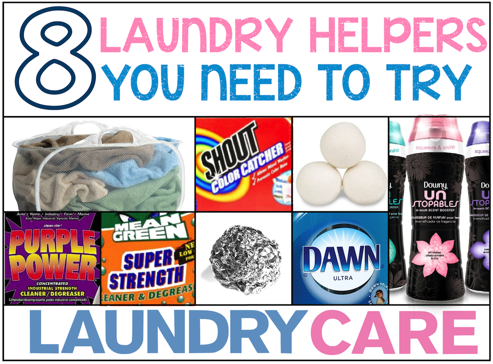 8 laundry helpers you need to try